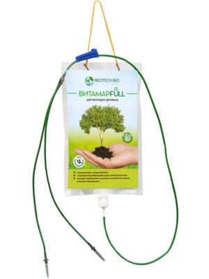 Капельница для внутристволовых инъекций ВИТАМАР FULL для молодых деревьев, 1 л.